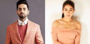 Ayushmann Khurrana & Sara Ali Khan to star in Romantic Comedy? f