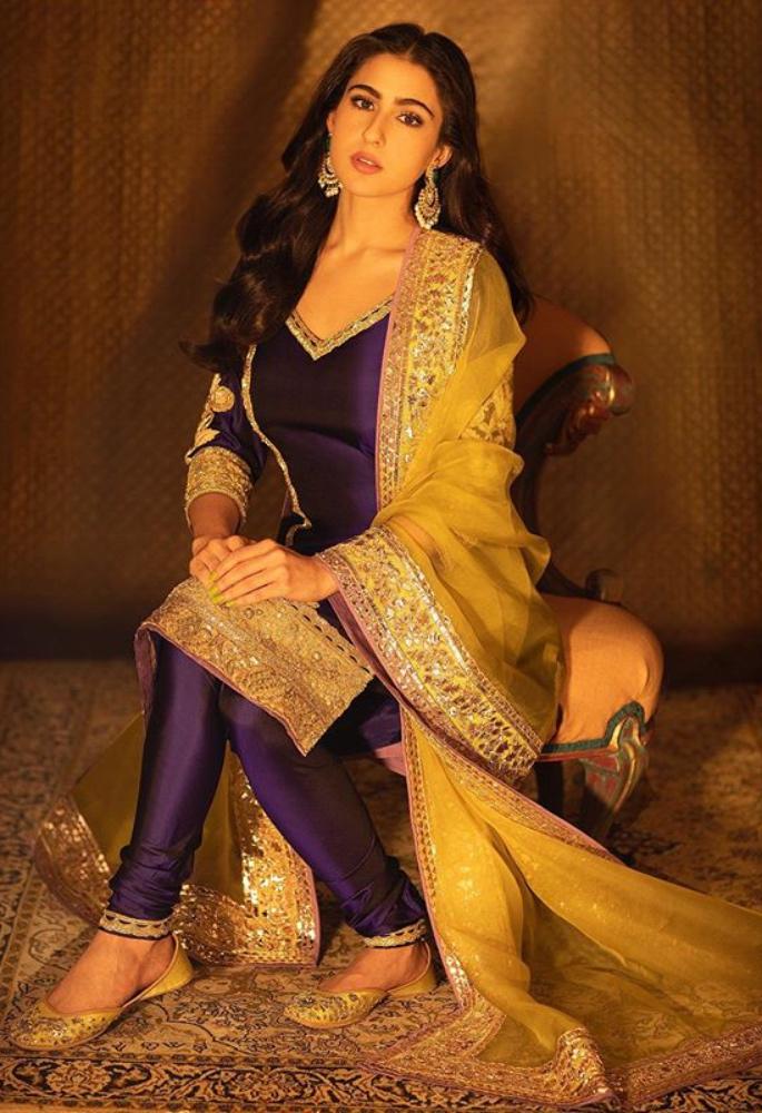 Bollywood Divas stun in Ethnic Ensembles for Diwali - sara