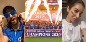 Bollywood Reacts to Mumbai Indians IPL 2020 Victory f