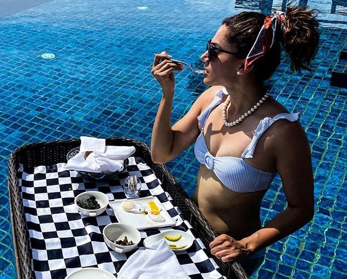 Bollywood Stars in Bikinis on the Beaches of Maldives - tapsee