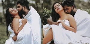 Indian Couple trolled for Intimate Wedding Photoshoot f