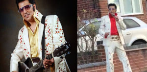 Indian Elvis Tribute Act Singing in Street goes Viral f