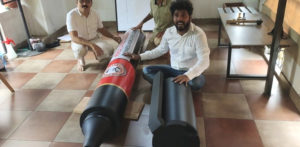 Indian Man breaks Record with World's Largest Marker Pen f
