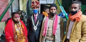Indian Man marries Nepali Woman after 8 Month Wait f
