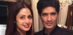 Manish Malhotra Recalls his Favourite Muse Sridevi