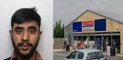 Man jailed for £12k Cash-in-Transit Robbery outside Tesco