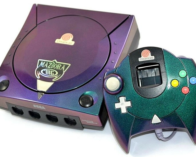 Most Expensive Custom Gaming Consoles - dreamcast