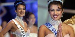 Priyanka karibu Alipata Ulemavu wa WARDROBE katika Miss World