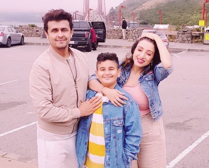 Sonu Nigam reveals He doesn't want Son Neevan to be a Singer - family