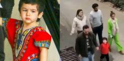 Taimur Ali Khan shouts at Paparazzi 'No Photo'