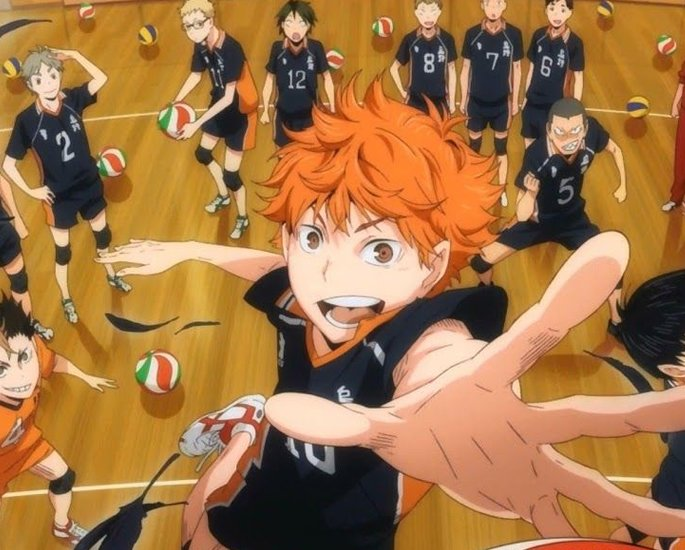 Top 5 Sports Anime Watched in Asia - Haikyu!!