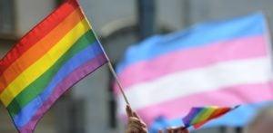 Transgender LGBTQ Flag