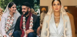 US Indian Bride wears Suit for her Wedding