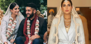 US Indian Bride wears Suit for her Wedding f