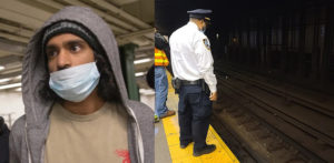 US Indian Man arrested for pushing Woman in front on Train f