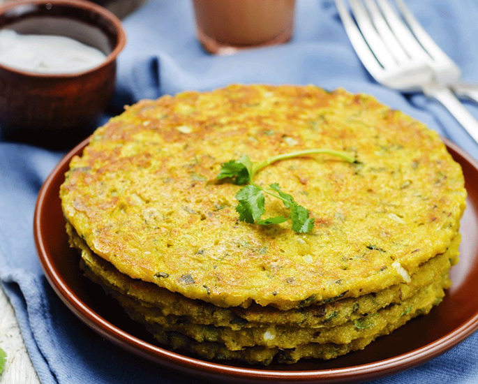 10 Healthy Indian Snacks You Must Try - chilla