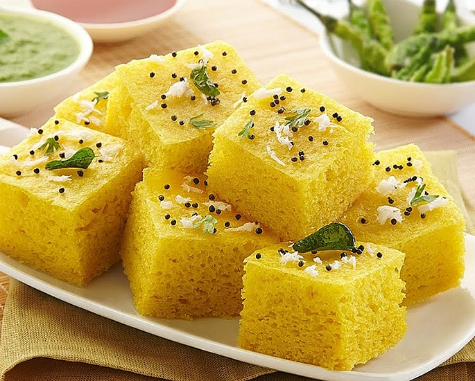10 Healthy Indian Snacks You Must Try - dhokla
