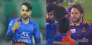 5 Top Heated Moments between Pakistani & Afghan Cricketers - F1