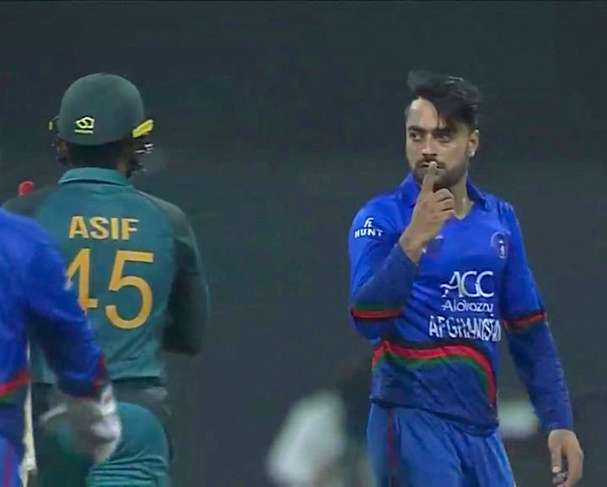 5 Top Heated Moments between Pakistani & Afghan Cricketers - IA 5