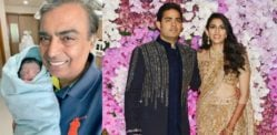 Indian Billionaire Mukesh Ambani becomes a Grandfather