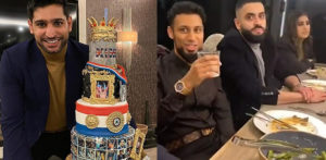 Amir Khan breaks Covid-19 rules with 'surprise' Birthday Party f