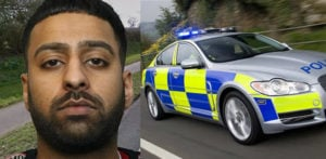 Banned Driver led Police on 107mph chase while high on Drugs f