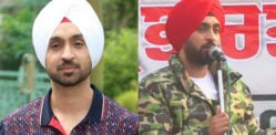 Diljit Dosanjh donates Rs.1 cr to keep Farmers Warm?
