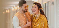 Gauahar Khan shares her Wedding Card on Instagram