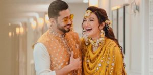Gauahar Khan shares her Wedding Card on Instagram f