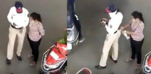 Indian Woman bribing Policewoman Video goes Viral f