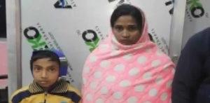 'கொலை செய்யப்பட்ட' இந்தியப் பெண்ணும், சிறு மகனும் உயிருடன் காணப்பட்டனர்