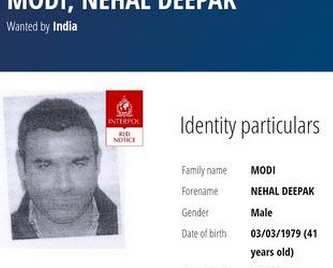 Nirav Modi's brother Nehal charged with $2.6m Diamond Fraud - Interpol