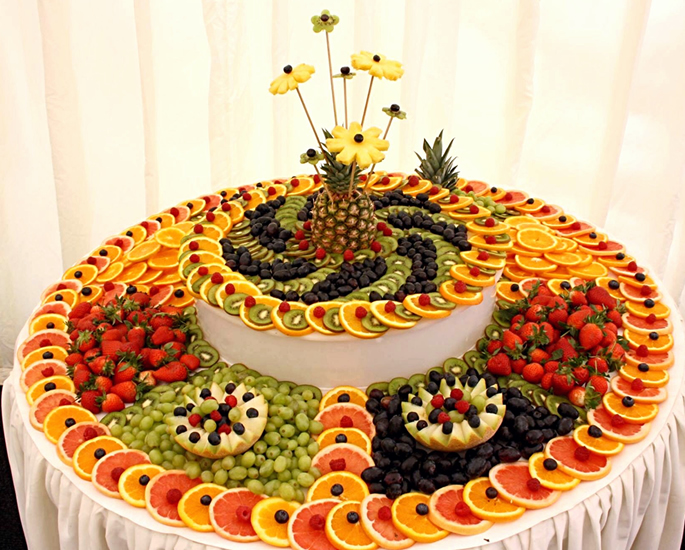 Popular Dessert Ideas for Asian Weddings - fruit