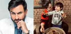 Saif Ali Khan mocks Haters trolling Taimur's Pottery Pics