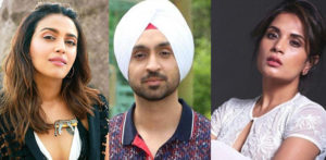 Swara Bhasker & Richa Chadha show support for Diljit Dosanjh f