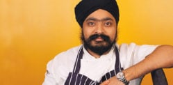 TV Chef Tony Singh shows support for Farmers' Protest