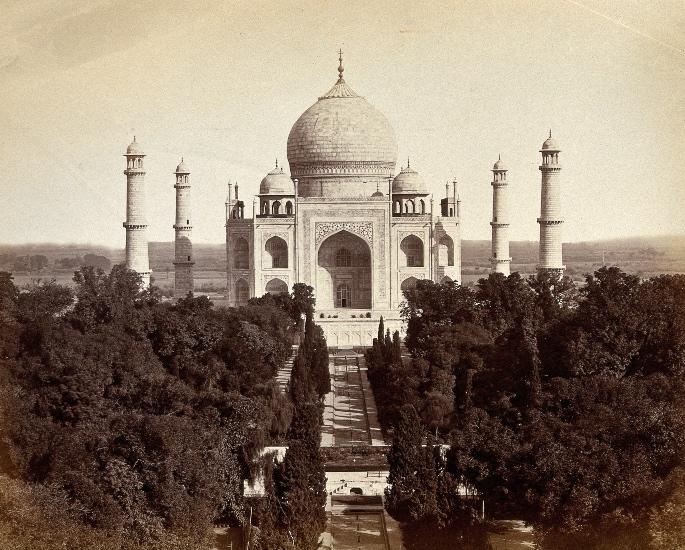 ताजमहाल गार्डनचे महत्व - ताज महल 2