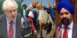 UK's PM Clueless to Tan Dhesi Request for Indian Farmers Protest