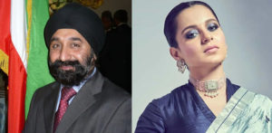 UK's Vic Sethi offers Kangana £1k to Farm with Mahinder Kaur f
