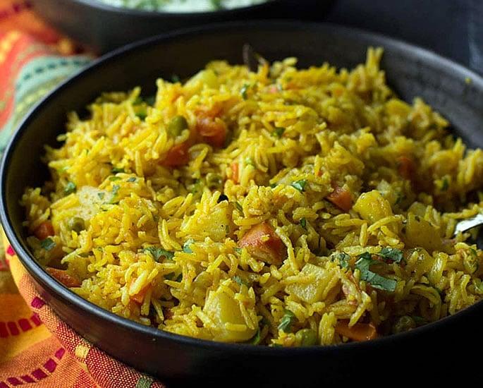 Vegan Alternatives to Popular Indian Dishes - biryani