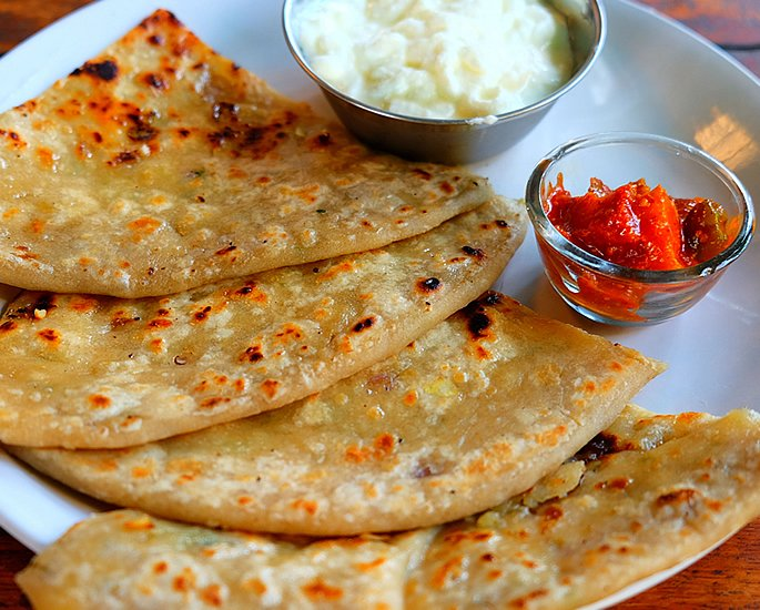 to Popular Indian Dishes - paratha