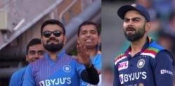 Virat Kohli's Look-alike in the stands at 3rd T20I goes Viral