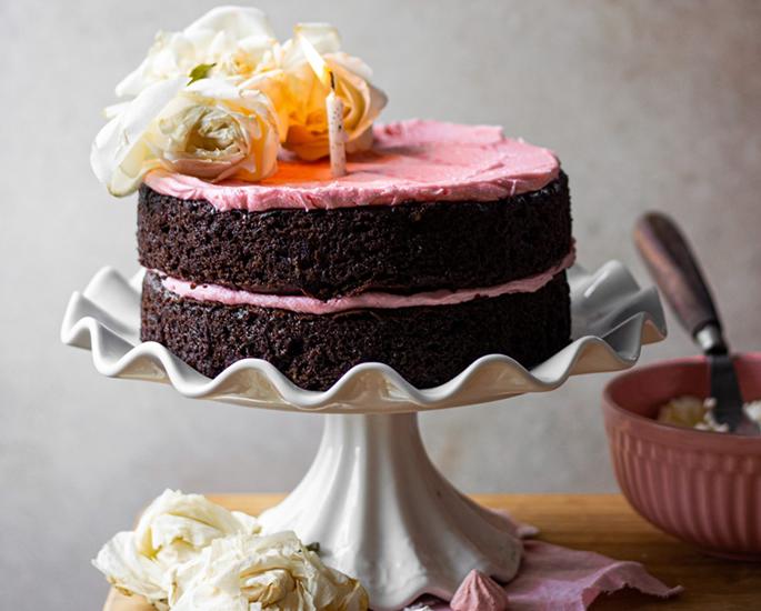 ग्लूटेन-फ्री भारतीय मिठाईसाठी 10 पाककृती - चॉक केक