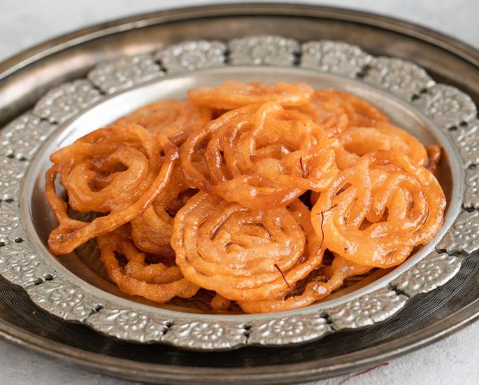 भारतीय मिष्टान्न साठी 10 पाककृती - जलेबी