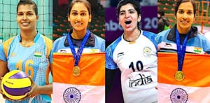15 Famous Female Volleyball Players of India - f