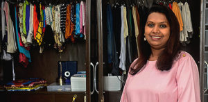 Female Entrepreneur helping Indians Organise & Declutter f