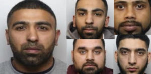 Gang jailed for moving Weapons Cache & £80k Drugs f
