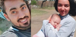 Husband Tied Up & Strangled Wife and Baby to Death