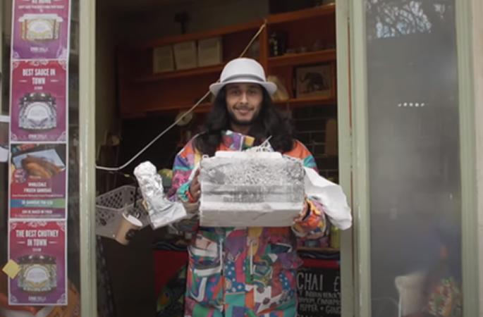 भारतीय रेस्तरां समोसा को अंतरिक्ष में भेजता है