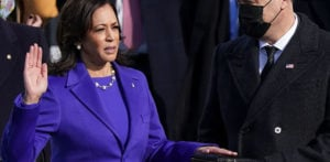 Kamala Harris becomes First South Asian Vice President f